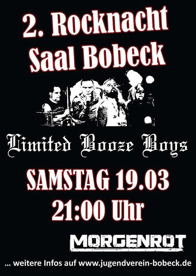 Limited Booze Boys Bobeck